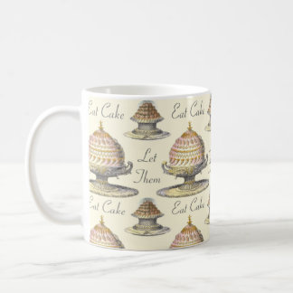 Let Them Eat Cake Vintage Pastries - Vintage Style Mug