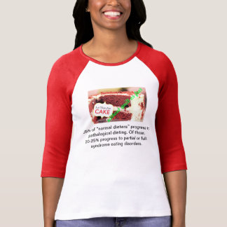 Let them Eat Cake Without Guilt or Fear Tee Shirts