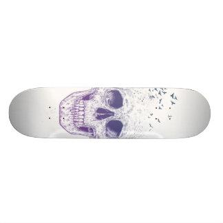 Let them fly 18.1 cm old school skateboard deck