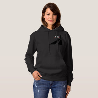 Let_Them_Rock_Logo_Sport_Pullover_Womens_Black Hoodie