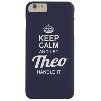 Let THEO Handle It Barely There iPhone 6 Plus Case