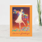 Let There Be Light Holiday Greetingcard Christmas Card