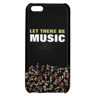 Let There Be Music iPhone 5C Covers