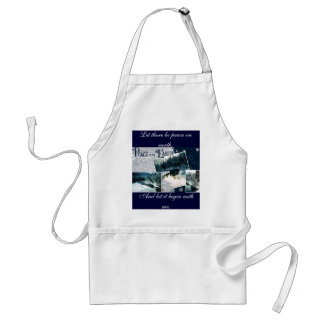 Let there be peace on earth standard apron