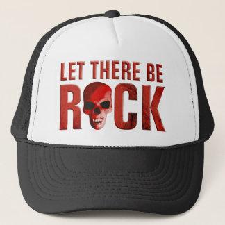 let there BE rock skull talk Trucker Hat