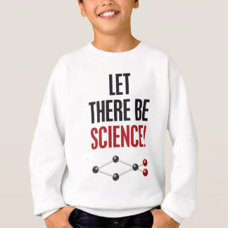 Let there be science_christian fish.png sweatshirt