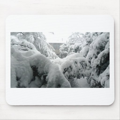 Let there be snow mousepads