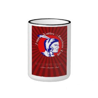 Let Us celebrate together Native American Pride Po Coffee Mugs