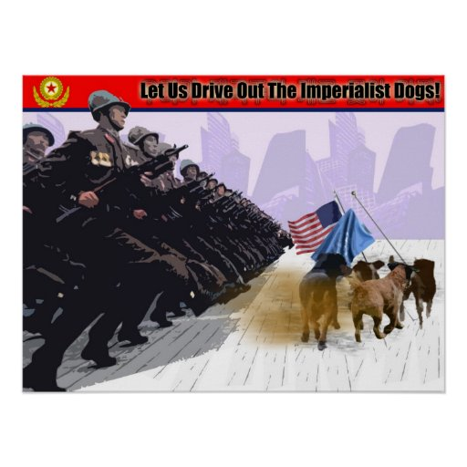 Let Us Drive Out The Imperialist Dogs! Print