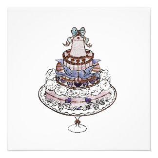 Let Us Eat Cake Invitations