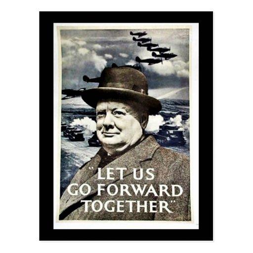 Let Us Go For War Postcards