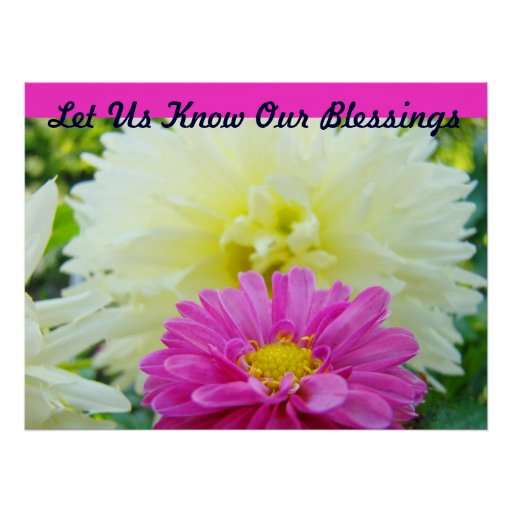 Let Us Know Our Blessings art pring Healing Touch Print