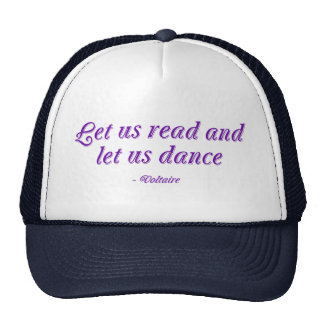 Let Us Read And Let Us Dance Cap