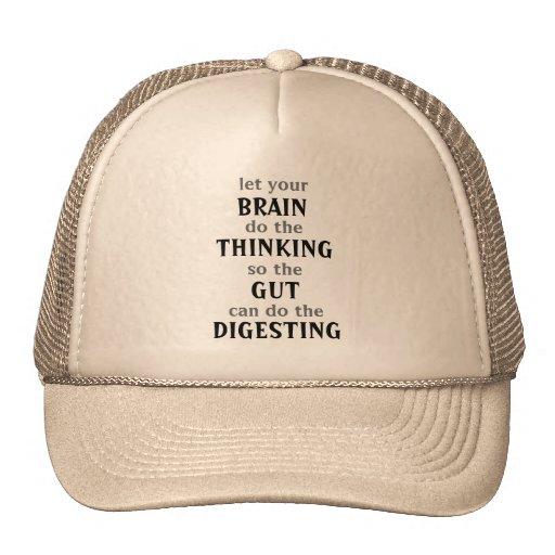 Let your brain think Hat