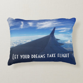 Let Your Dreams Take Flight! Accent Pillow