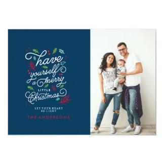 LET YOUR HEART BE LIGHT Christmas Card 13 Cm X 18 Cm Invitation Card