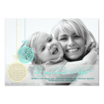 Let Your Heart Be Light Customisable Photo Card Personalized Announcement