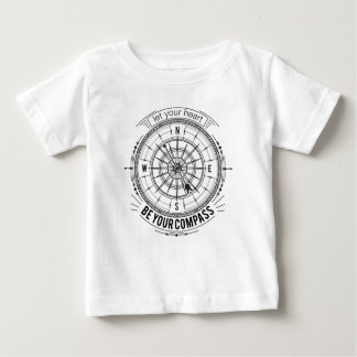 Let Your Heart Be Your Compass Baby T-Shirt