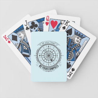 Let Your Heart Be Your Compass Poker Deck