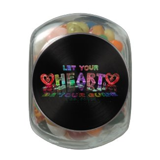 Let Your Heart be Your Guide Glass Jar