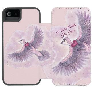 Let Your Heart Fly Free Fantasy Magical Incipio Watson™ iPhone 5 Wallet Case