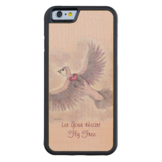 Let Your Heart Fly Free Fantasy Magical Maple iPhone 6 Bumper Case