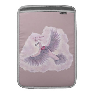 Let Your Heart Fly Free Fantasy Magical Sleeve For MacBook Air