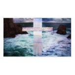 Let your light shine BIBLE VERSE artwork Business Card