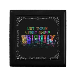 Let Your Light Shine Brightly Gift Box