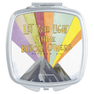 Let Your Light Shine Compact Mirrors