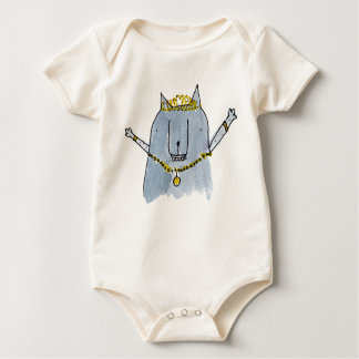Let yourself be a princess baby bodysuit