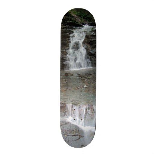 Letchworth State Park Cascading Waterfalls Skateboard Deck