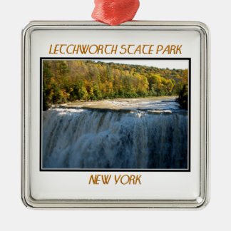 Letchworth State Park - Middle Falls Christmas Ornament