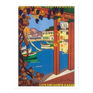 Lete Sur La Cote D' Azur Postcard
