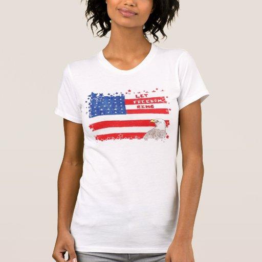 LetFreedomRing-border T-shirts