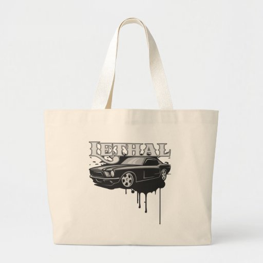 Lethal Muscle Car Tote Bags
