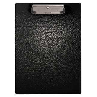 lether black clipboards