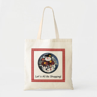 Let's All Go Shopping Tote