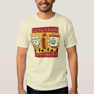 Let's all go to the lobby t shirt