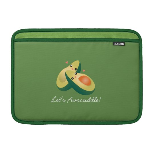 Let's Avocuddle Funny Cute Avocados Pun Humour MacBook