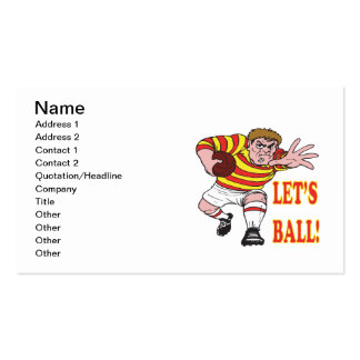Lets Ball 2 Business Card Templates