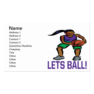 Lets Ball Business Cards