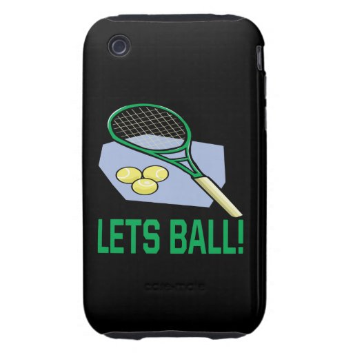 Lets Ball iPhone 3 Tough Covers