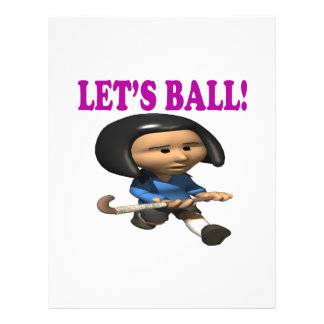 Lets Ball Full Color Flyer
