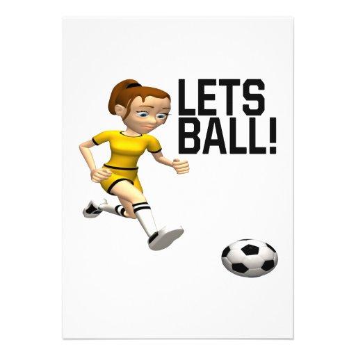 Lets Ball Custom Invites