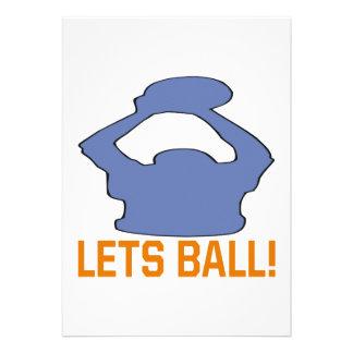 Lets Ball Invite