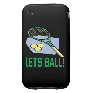 Lets Ball iPhone 3 Tough Case