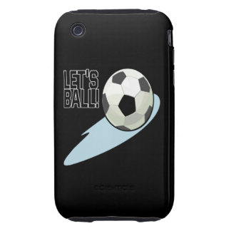 Lets Ball iPhone 3 Tough Cover