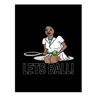 Lets Ball Postcards