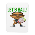Lets Ball Rectangular Magnets